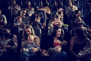 Mamães da zona oeste contam com mais uma sessão CineMaterna