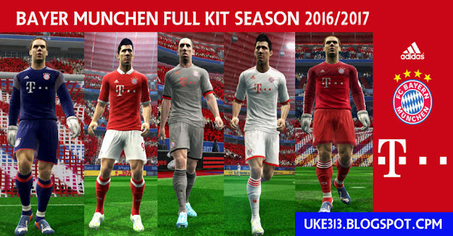 PES 2013 Bayer Munchen Kit 2016/2017
