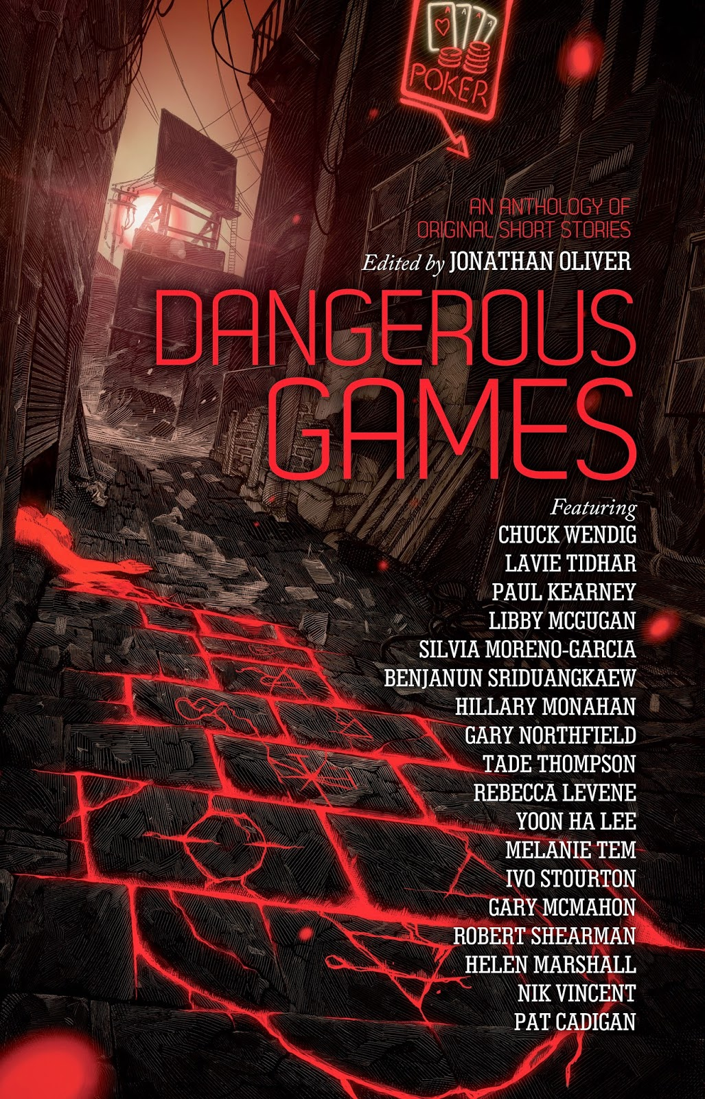 Dangerous Games:  An anthology of original short stories