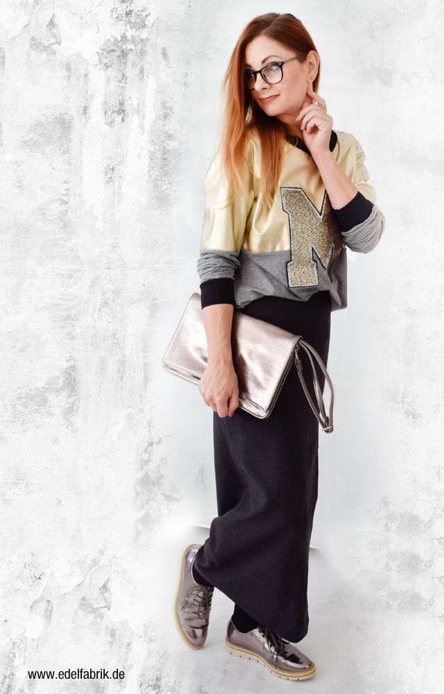 die Edelfabrik, Metallic Mode Trend für Frühjahr Sommer 2017