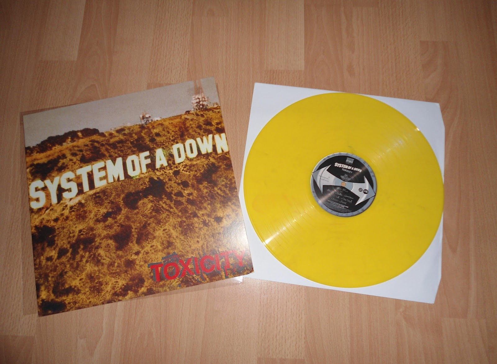 Hardcore Metal Vinyl One Day In Hamburg System Of A Down