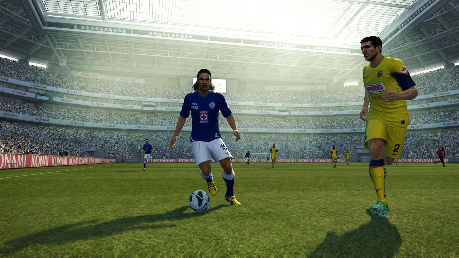 the latest f84d5 c7afe PESEdit.com 2013 Patch 3.7 adds Mexican Liga MX as a new league. Liga MX  will replace Bundesliga (or 2nd division slot if used in  BAL mode ) in PES  2013.
