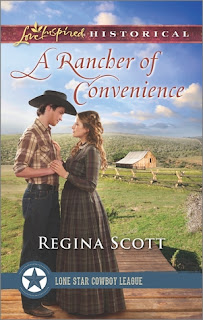 Heidi Reads... A Rancher of Convenience by Regina Scott