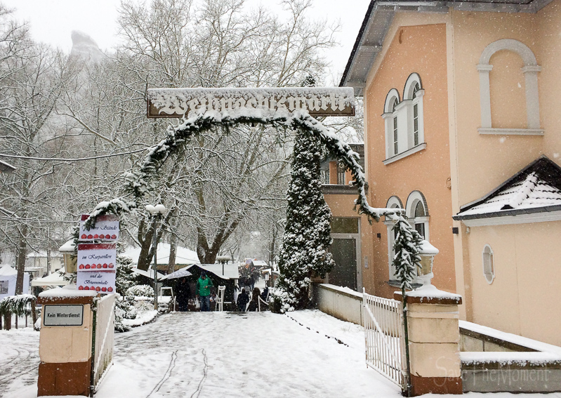 Wo Ist Noch Weihnachtsmarkt.Jolinas Welt Weihnachtsmarkt Bad Münster Am Stein Im Schnee