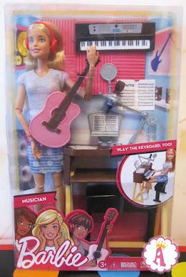 Игровой набор Barbie Musicia с музыкальными инструментами