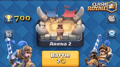 Cara Cepat Menaikan Level Game Clash Royale Terbaru