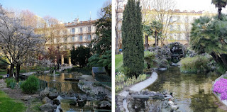 weekend à Saint Sebastien city guide the green frog plaza gipuzkoa jardins