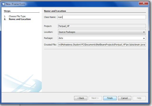2 2 - Tutorial Mmebuat Aplikasi Penjualan HP Menggunakan Java
