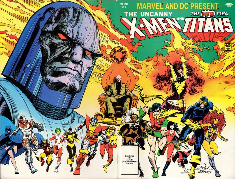 Teen Titans Vs X Men 67