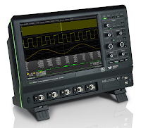 An example of a touch screen-equipped oscilloscope.