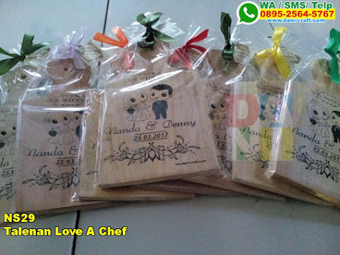 Jual Talenan Love A Chef