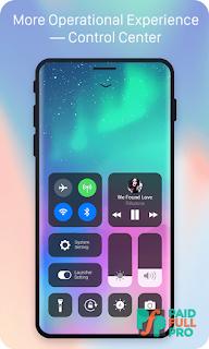 X Launcher Prime Phone X Theme OS11 Control Center latest apk download