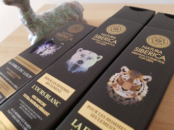 natura siberica shampoing creme et gel douche pour homme