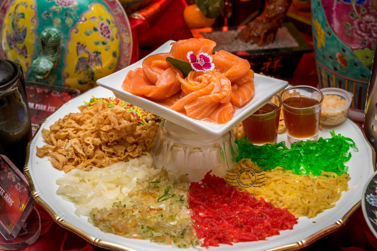Properous Chinese New Year Buffet Dinner by Award Winning Chef Heng @ Hard Rock Hotel Penang