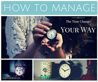 How to manage the time change your way