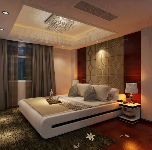 Wallpaper For The Bedroom 2017: Wonderful Stylish Wallpaper For Bedroom Design