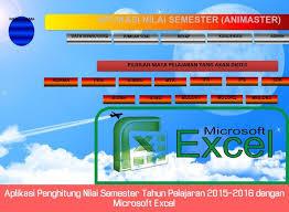 Menghitung Nilai KKM Secara Otomatis Menggunakan Ms Excel