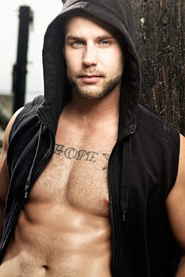 Hot Actor and Model Chris Bines