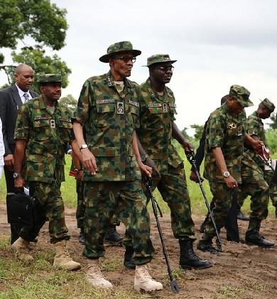 Buhari Storms Sambisa Forest