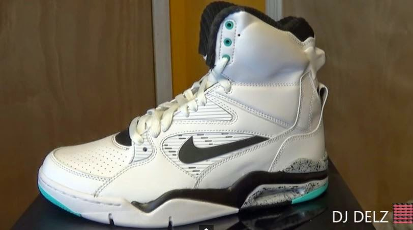 11f25f99ec190d Here is a detailed the Nike Air Command Force Hyper Jade Sneaker available  now HERE