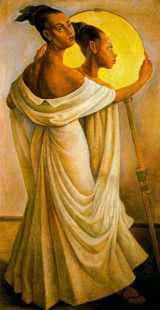 9f5af0ff534c6 Óleo sobre lienzo. 199 x 100.5 cm. Colección de Rafael Coronel. Cuernavaca.