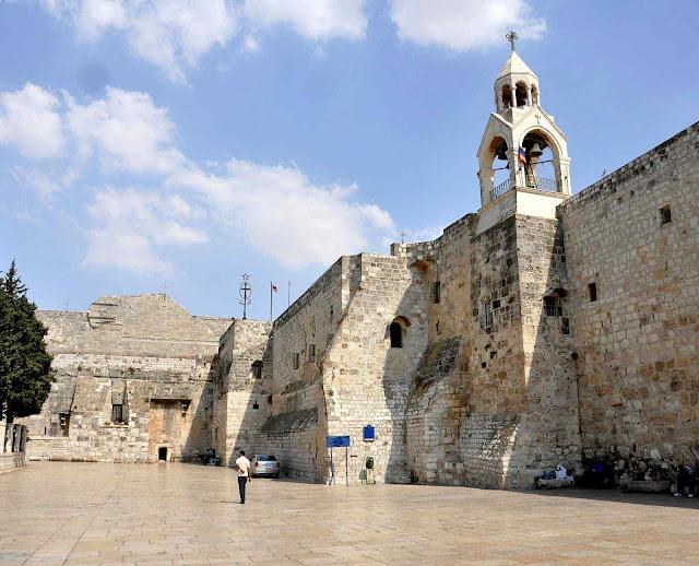 A Basílica da Natividade é uma das igrejas mais antigas do mundo