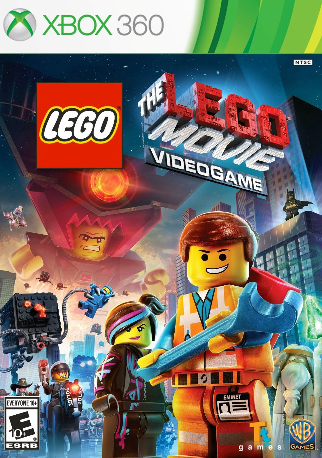 The LEGO Movie Videogame XBOX 360 ESPAÑOL