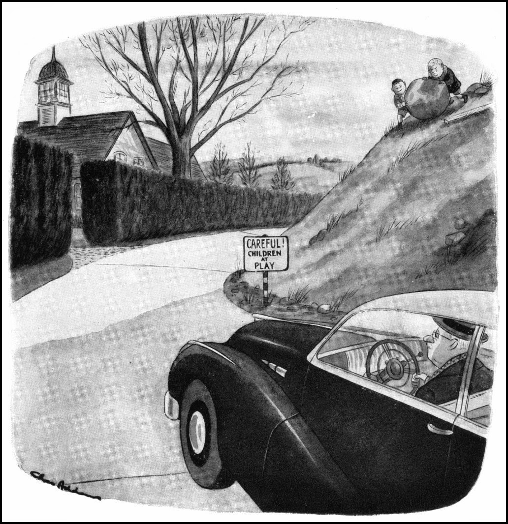 Image result for charles addams car cartoons