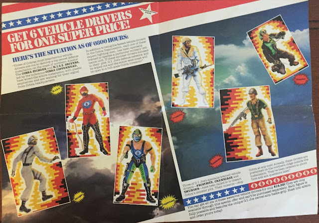 1987 Chilling Events are About to Unfold, Mail Away, Sgt. Slaughter, Hasbro Direct