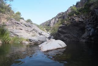 Barranquismo en el Barranco Guadalmina.