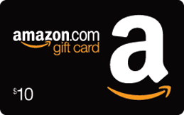 Win $10 Amazon Gift Card