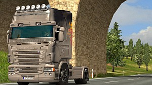 Unwashed skin for Scania RJL