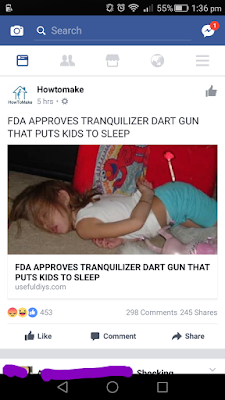 facebook fake news article funny