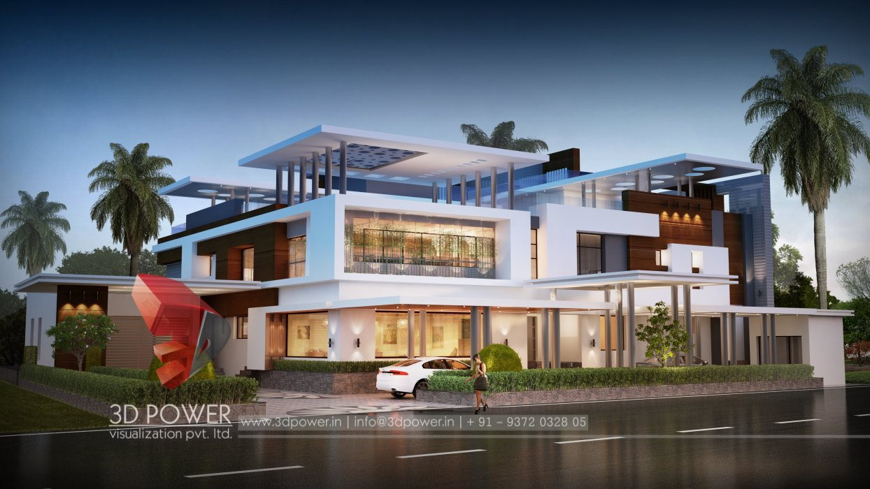 Ultra modern home designs home designs 3d exterior home for Super modern house design