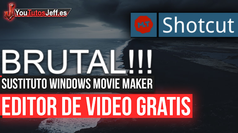 Brutal Editor de Vídeo Gratis para sustituir Windows Movie Maker