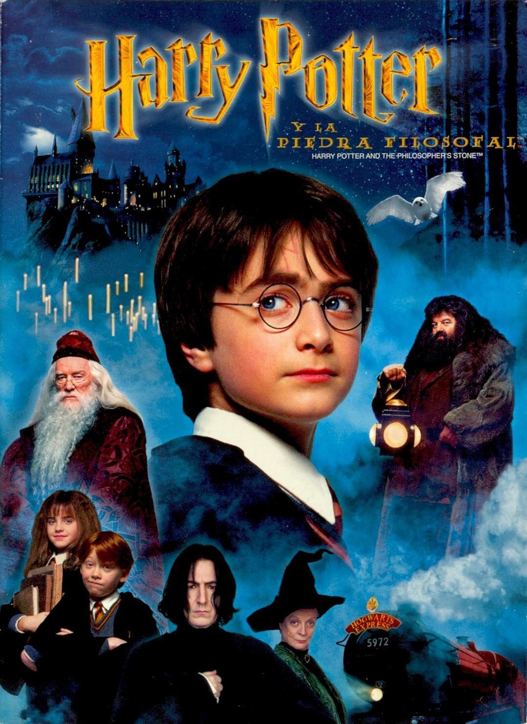 Harry Potter Libro 1 Harry Potter World Posters Peliculas