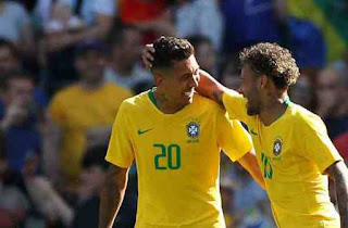 Football Prediction - Prediction of Saudi Arabia vs Brazil October 12, 2018 Friendly