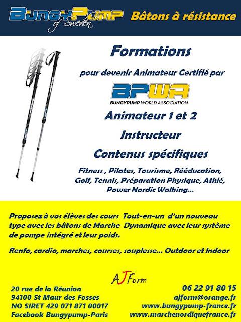 Formations pour devenir Animateur ou Instructeur de Bungy Pump certifié BPWA flyer page 2