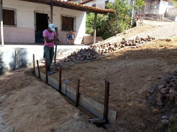 Ações da Secretaria de infraestrutura de Pedreiras....