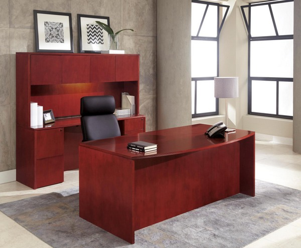 cherry wood office furniture