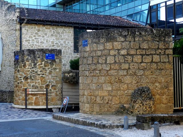 MONT-DE-MARSAN (40) - Vestiges porte fortifiée