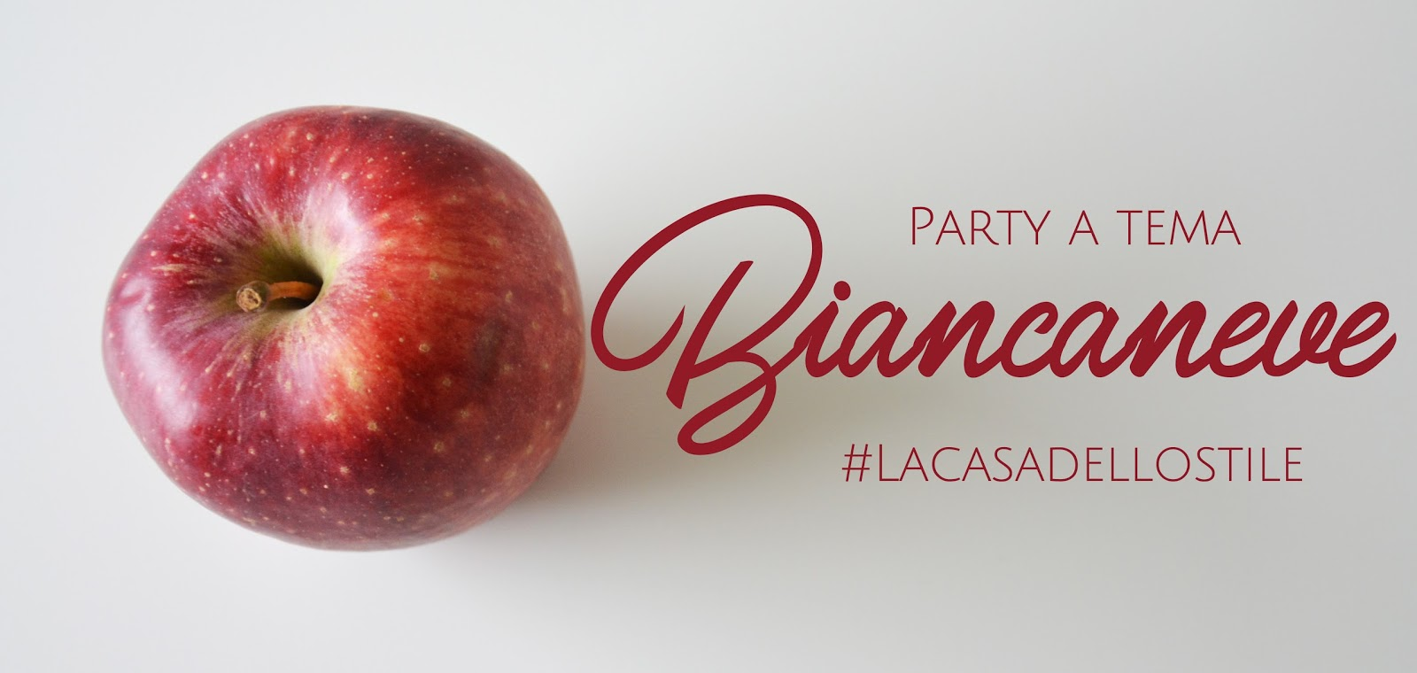 Party a tema Biancaneve