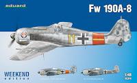 Galerie photos de la maquette du Fw 190 A-8 d'Eduard au 1/48.