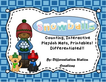 http://www.teacherspayteachers.com/Product/Snowballs-Interactive-Playdoh-Mats-Counting-Centers-and-Games-and-Printables-974760