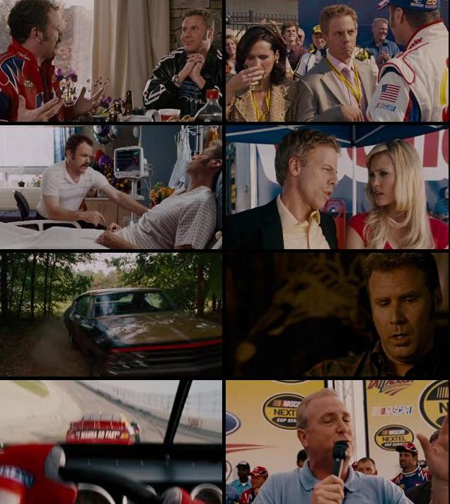 Talladega Nights The Ballad Of Ricky Bobby 2006 UNRATED Dual Audio Hindi 720p BluRay