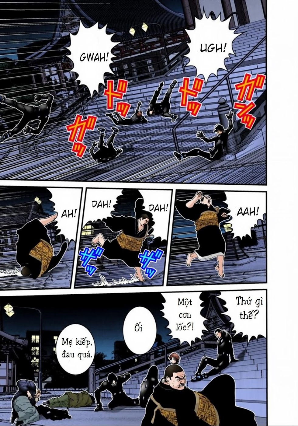 Gantz Chap 63: Bàn tay trang 6