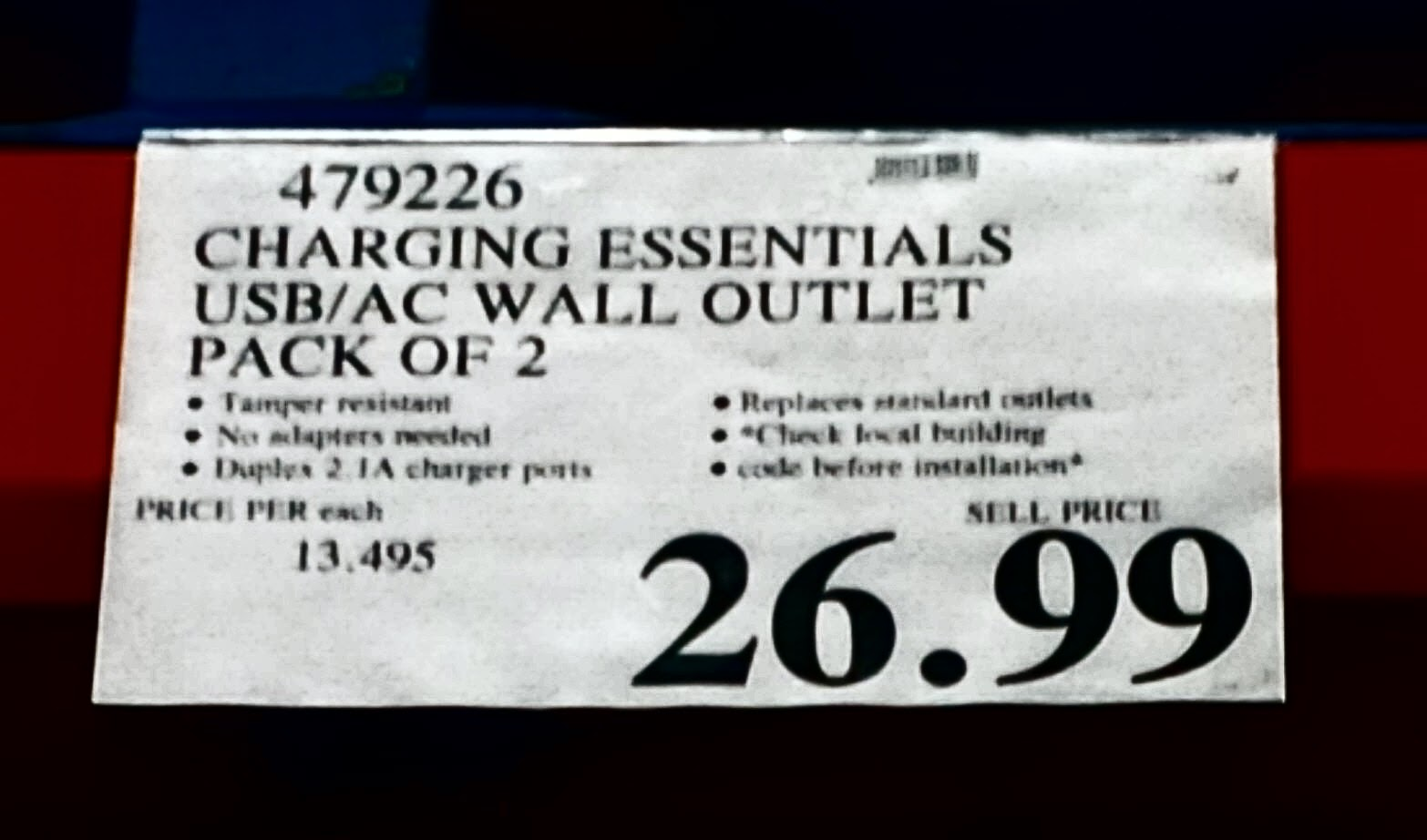 Canadian Costco Consumer New Featured Item Usb Ac Wall Outlet Electrical Wiring Canada Welcome And Thank You For Visiting The Place To Keep Up Date With Sales Clearance Items