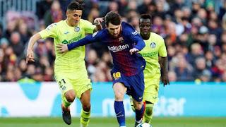 موعد مباراة برشلونة وخيتافي السبت 15-02-2020 في الدوري الاسباني