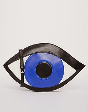 Asos WhitePepper Eye Clutch
