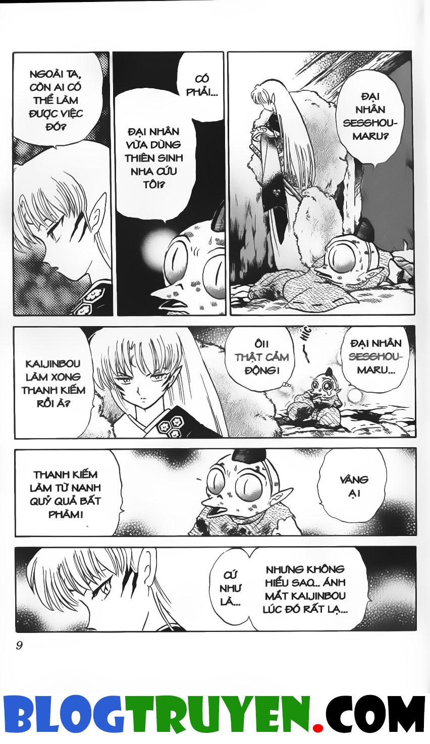 Inuyasha vol 17.1 trang 8